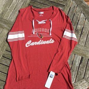 NWT NFL Arizona Cardinals Long Sleeve Shirt
